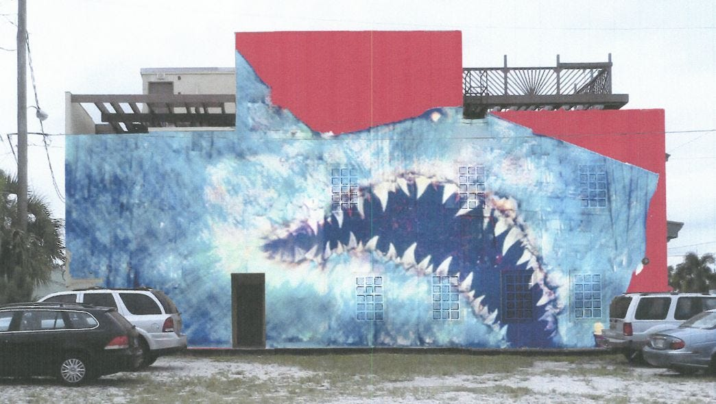 Eau Gallie mural controversy erupts at Ricks Furniture