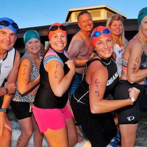 Triathlon triumph for a team full of newbies