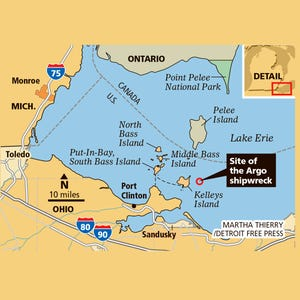 Oil Spill High Waves A Great Lakes Disaster Scenario - Great lakes in usa map