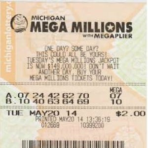 Winning $1M lottery ticket sold in Howell