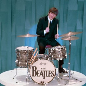 jim irsay buys beatles drum set for. Black Bedroom Furniture Sets. Home Design Ideas
