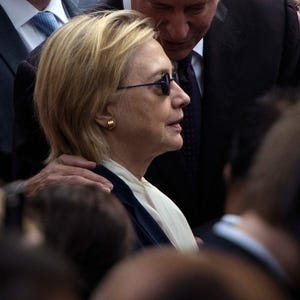 Clinton Cancels Trip To California After Overheating .