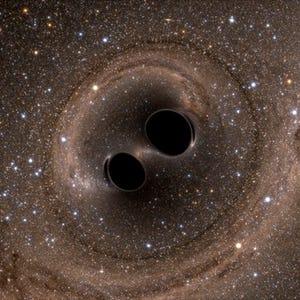 hubble telescope spots supermassive black hole