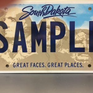 Did New License Plates Get Rushmore Wrong
