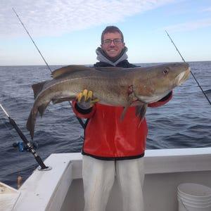 Abundant bluefish dominate weekend fishing for Big mohawk fishing boat