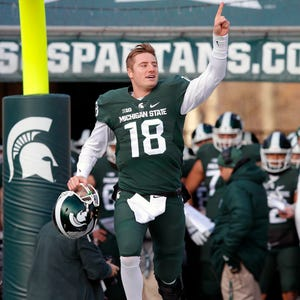 cheap for discount ef851 ee72b Michigan State's Connor Cook drafted 100th overall by ...