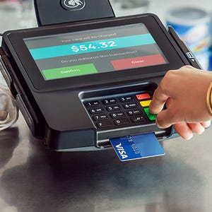 Many retailers havent met deadline for chip card readers usa today reheart Images