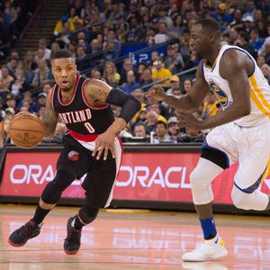 Trail Blazers preparing to let it fly against the Warriors