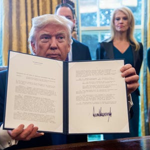 story news politics trump signs five more orders pipelines steel environment