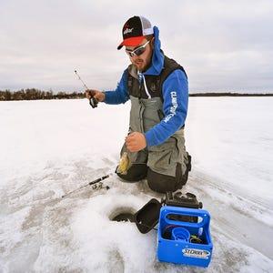 Wisconsin team wins naifc ice fishing tournament for Wisconsin fishing tournaments