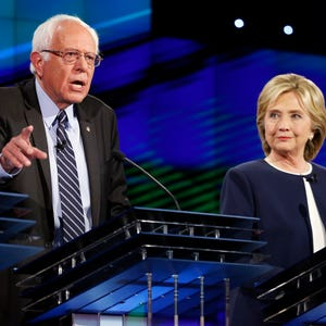 the ideas and good points of clinton and sanders in the iowa democratic debate Despite sanders's surprising victory last tuesday in michigan, where polls showed him trailing by an average of some twenty points, his odds of winning the nomination are slight but his candidacy has exposed deep tensions within the democratic party long before barack obama attacked hillary, during.