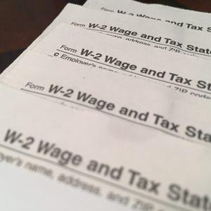 Cashing stock options tax