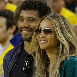 Ciara and Russell Wils...