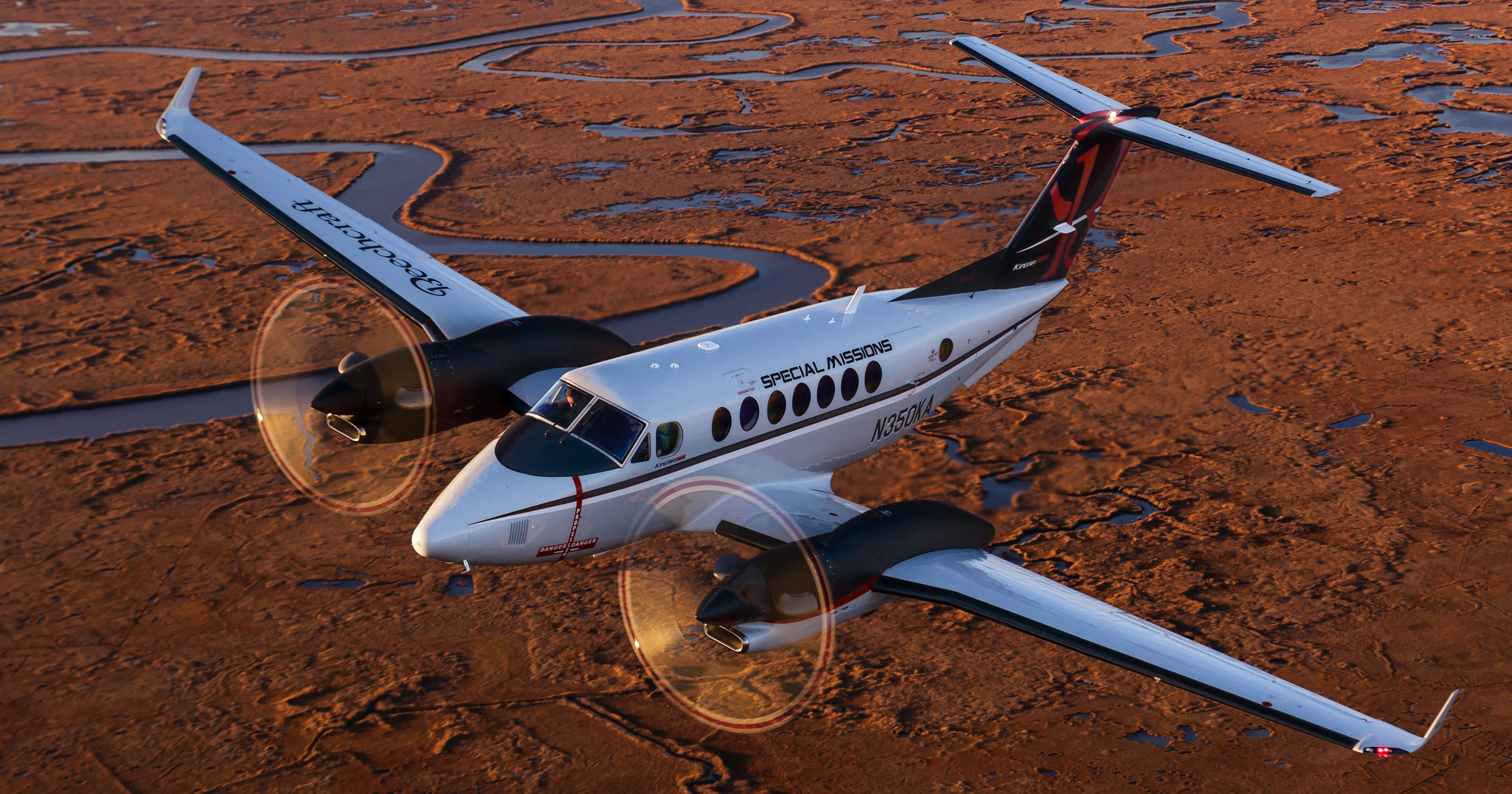635802605773881408 DFN AUSA King Air Djibouti: Army Spy Plane Deploys To The US Africa Command area of operations