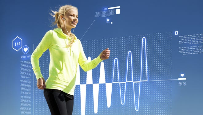 Through  wearables like Fitbit, Apple Watch and Jawbone, patients can measure things like their own heart rate, blood pressure, sleeping patterns, stress levels and other critical personal health data.