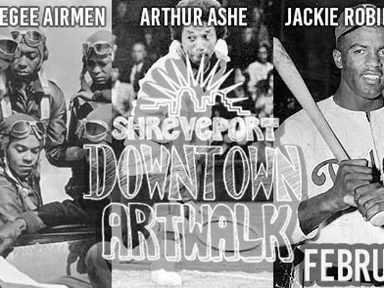 Shreveport Downtown Development Authority will host the monthly Artwalk series 5 p.m. to 8 p.m. on Feb. 1.