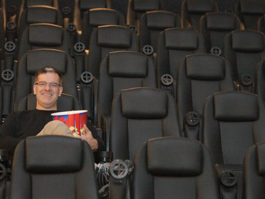 Penn Ketchum, managing partner of Penn Cinema Riverfront, says the 15-screen theater is slated to begin beer and wine sales on May 22.