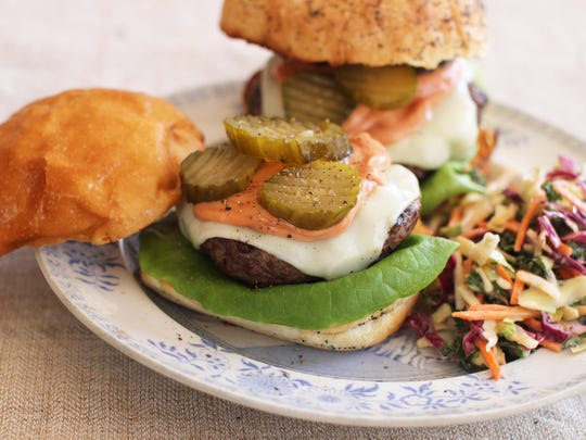 Show off your cooking skills at a burger cooking class
