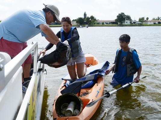 Indian River Cleanup