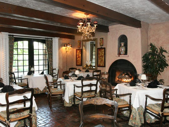 European influences abound in the decor of the main dining room.