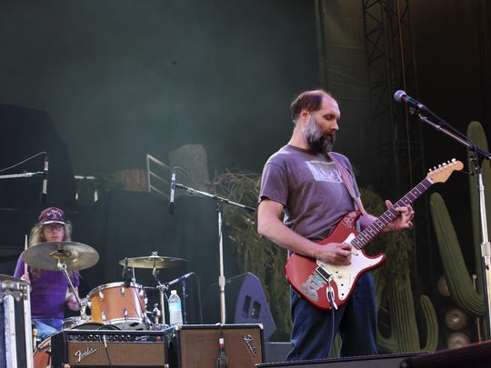 Built to Spill performance at The Sasquatch! Music Festival May 2013 in George, Washington.