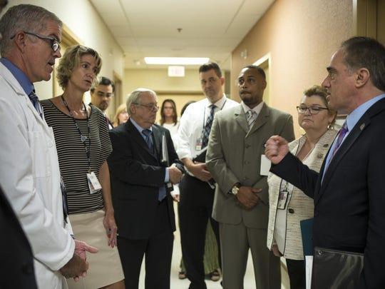 PNI new undersecretary visits Phoenix VA hospital