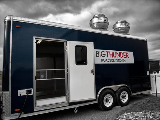 The Big Thunder food truck is among Scott Kammerer's business assets.