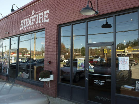 Bonfire Barbecue is on Patton Avenue in West Asheville.