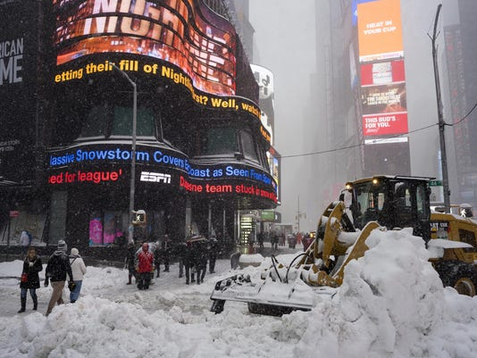 Big Snowstorm New York