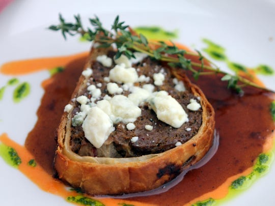 Beef Wellington is an ongoing customer favorite.