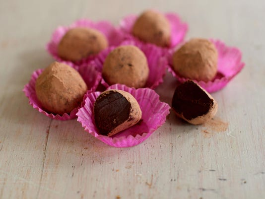 Food Worlds Fare Chai Truffles