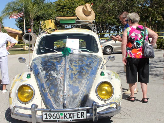 The trusty bug surely holds memories (and secrets) from people of the same era.
