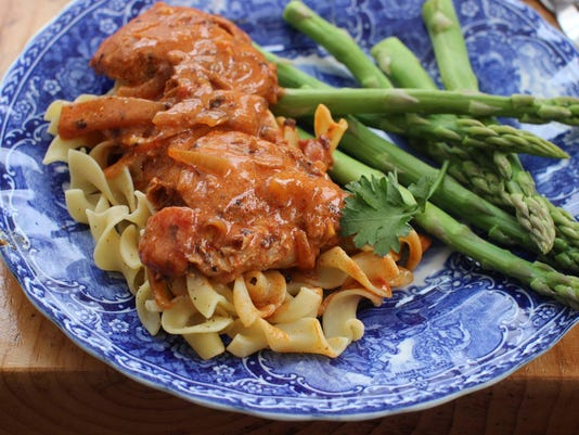 Food Deadline Chicken Paprikash