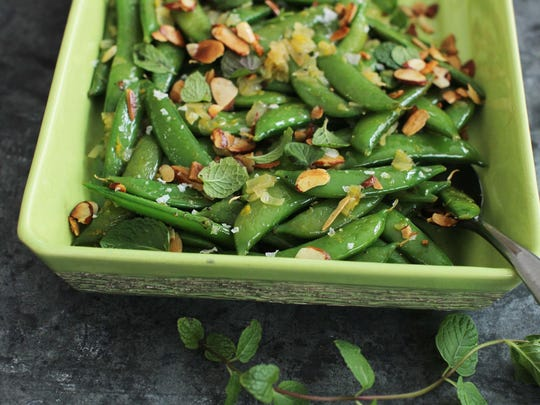 Food-American Table-Sugar Snap Peas