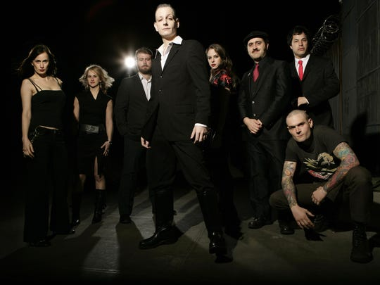 The high-energy ensemble World/Inferno Friendship Society will perform at 7 p.m. Friday at The Haunt.