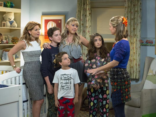 "A scene from the Netflix television program ""Fuller House."""