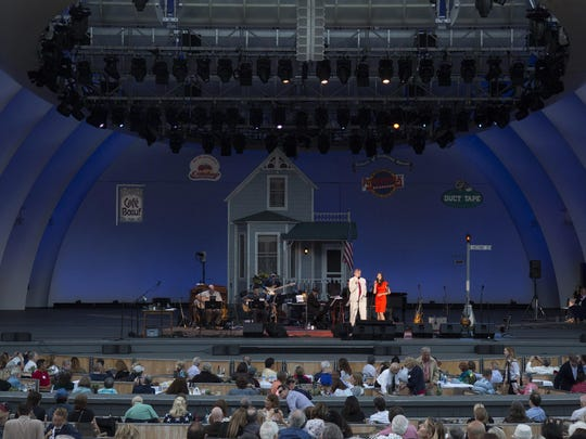 Writer and humorist Garrison Keillor hosts his final