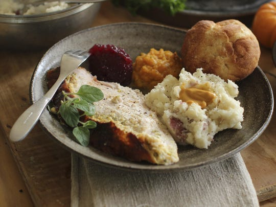 If you're not feeding a crowd for the holidays, then roasting a turkey breast could be the way to go.