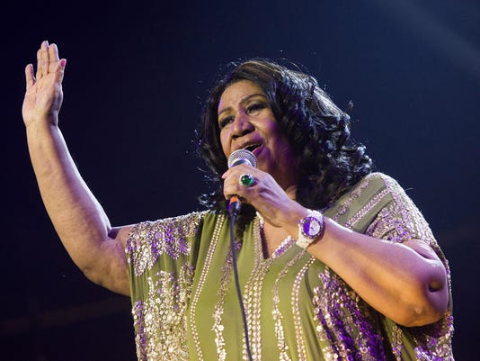 AP PEOPLE-ARETHA FRANKLIN A FILE ENT USA NJ