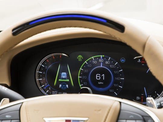 Automakers and analysts say demand for the driver-assist and automated safety features, such as Cadillac's Super Cruise, is growing.