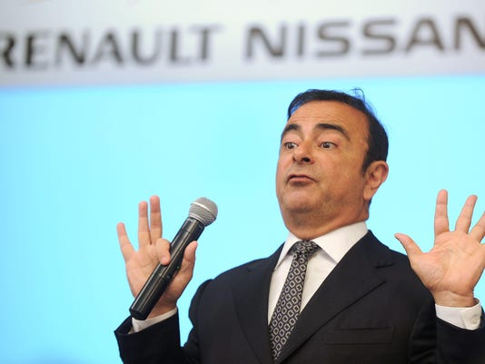 FILES-JAPAN-AUTOMBILE-NISSAN-RENAULT-MITSUBISHI-GHOSN
