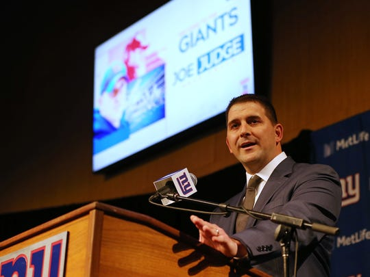 Giants head coach Joe Judge