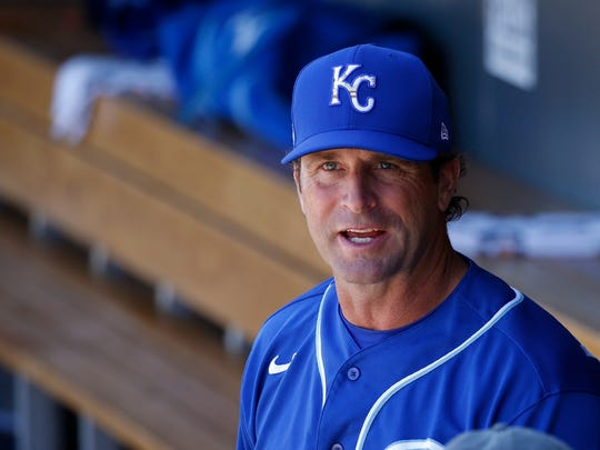 Royals manager Mike Matheny.