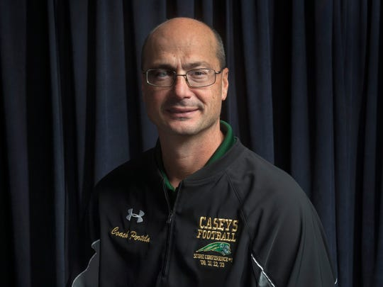 Jim Portela coached Red Bank Catholic's football team to its first NJSIAA championship in 38 seasons