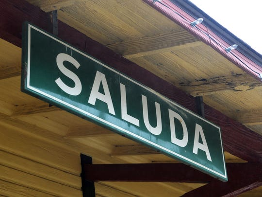 The Saluda Train Station is the town's oldest building and has gone through renovations with fresh paint and modern fixtures. It's a space residents say could serve as a town museum.