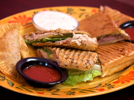 At Heavenly Treats Bakery, savory specialties include chicken and beef empanadas, clam chowder, turkey sandwich, Cuban sandwich and grilled cheese.