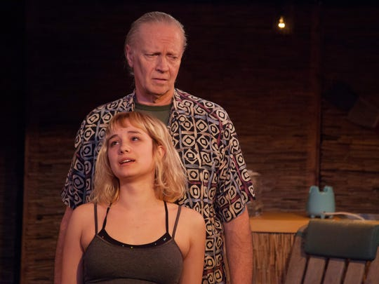 """Gianna Kiehl and Paul Schnabel star in """"Slowgirl,"""" a play by Shelburne native Greg Pierce, through March 29 at Vermont Stage."""