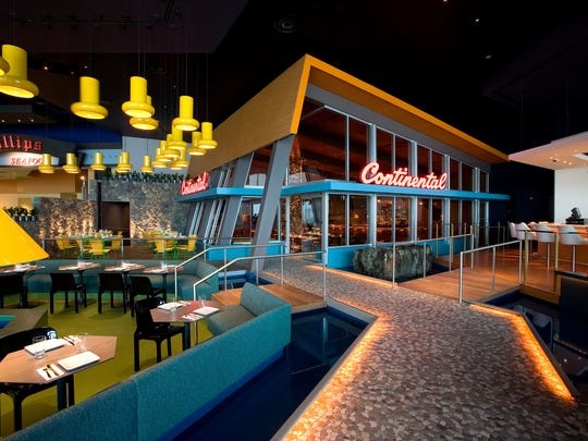 Restaurant Week meals cost $33.15 at participating eateries, including Continental Atlantic City across from Caesars on the Boardwalk.