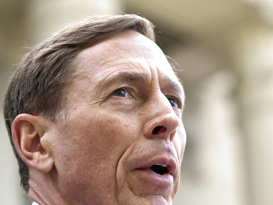 Former director of CIA and former commander of U.S. Forces in Afghanistan Gen. David Petraeus Sentenced For Giving Classified Information To Mistress