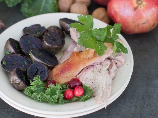 Food American Table Roasted Pig